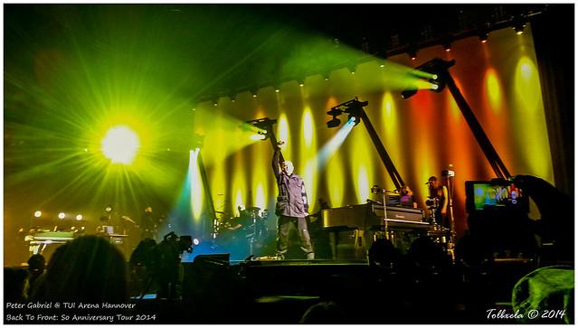 Peter Gabriel Concert History Shock The Monkey Tour