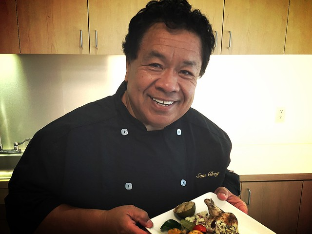 Chef Sam Choy!