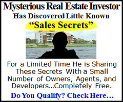 A add for a real estate sales scam.