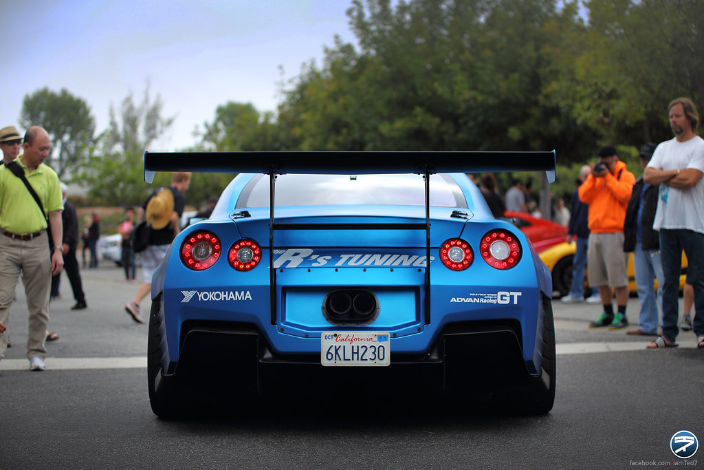 Fast And Furious 6 Blue Nissan R35 Gt R The Sixth