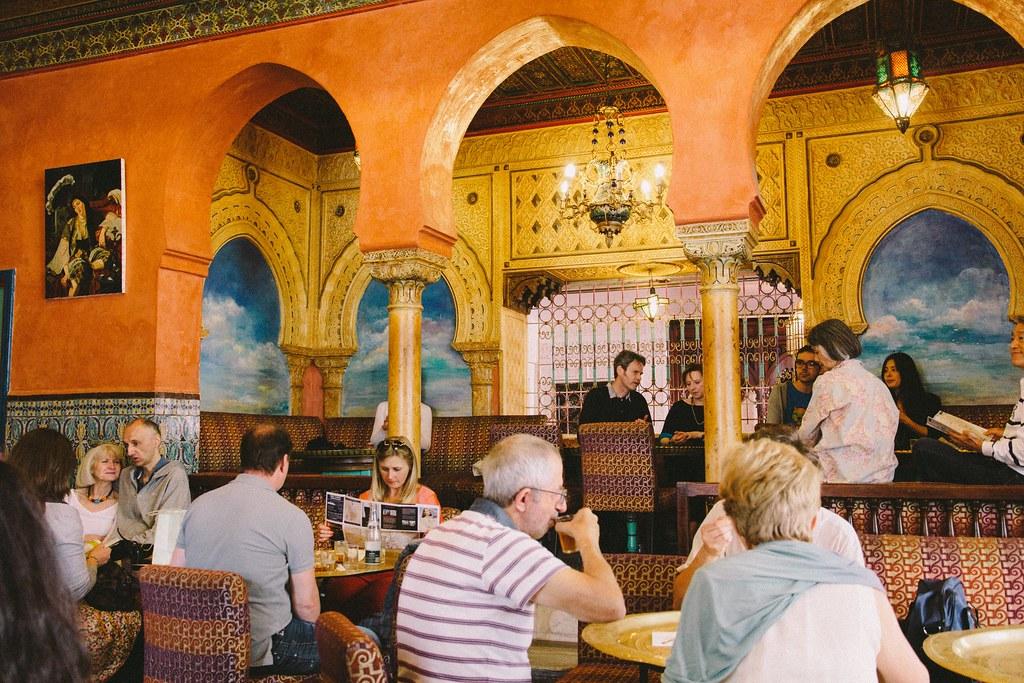 Cafe Maure De La Mosquee De Paris