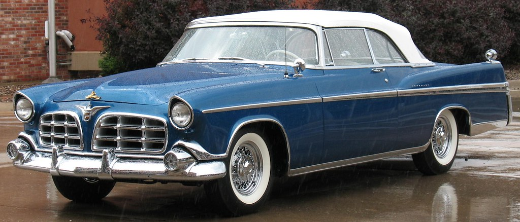 1956 Chrysler Imperial Convertible   This gorgeous '56 ...