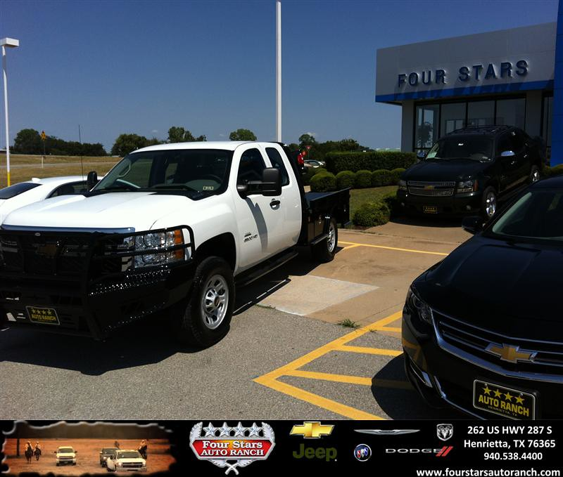 Thank You To David Rater On The 2013 Chevrolet Silverado 3