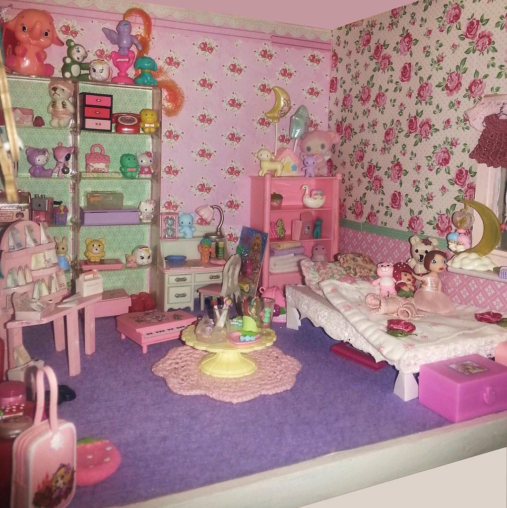 Dollhouse Bedroom Fairyina Flickr