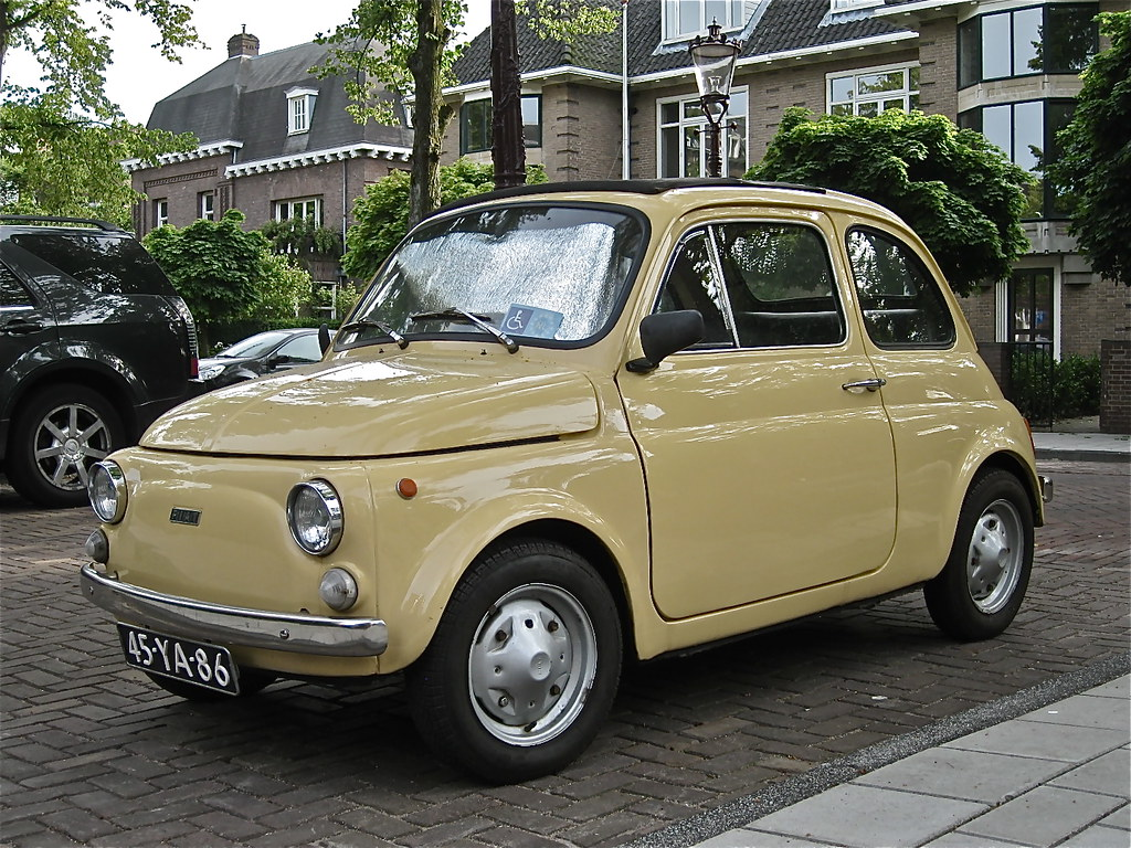 1973 fiat 500r the 39 r 39 stands for 39 rinnovata 39 the last 50 flickr. Black Bedroom Furniture Sets. Home Design Ideas