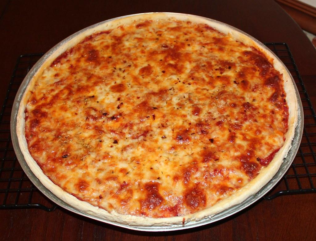 Pizza Dough Recipe Food Processor No Yeast