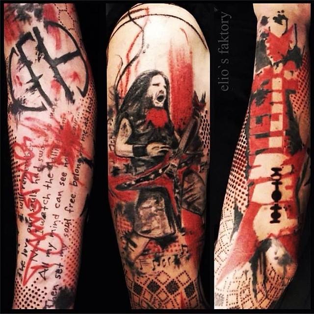 pantera cowboys from hell tattoo - photo #35