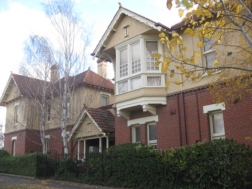 A Set of Queen Anne Flats - Ballarat