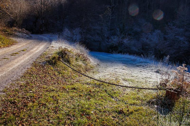 El límite entre la luz y la sombra, entre el frío y el calor