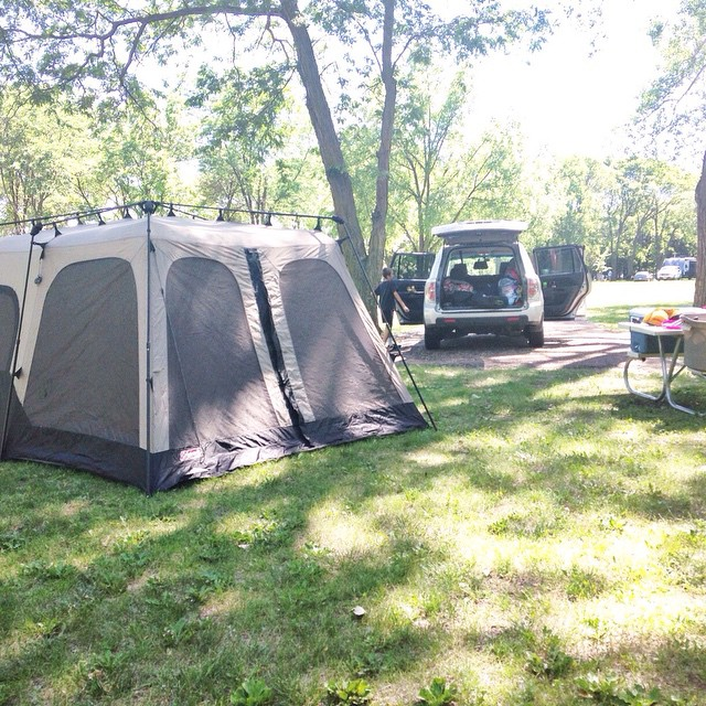 Home sweet tent #camping #summer2015