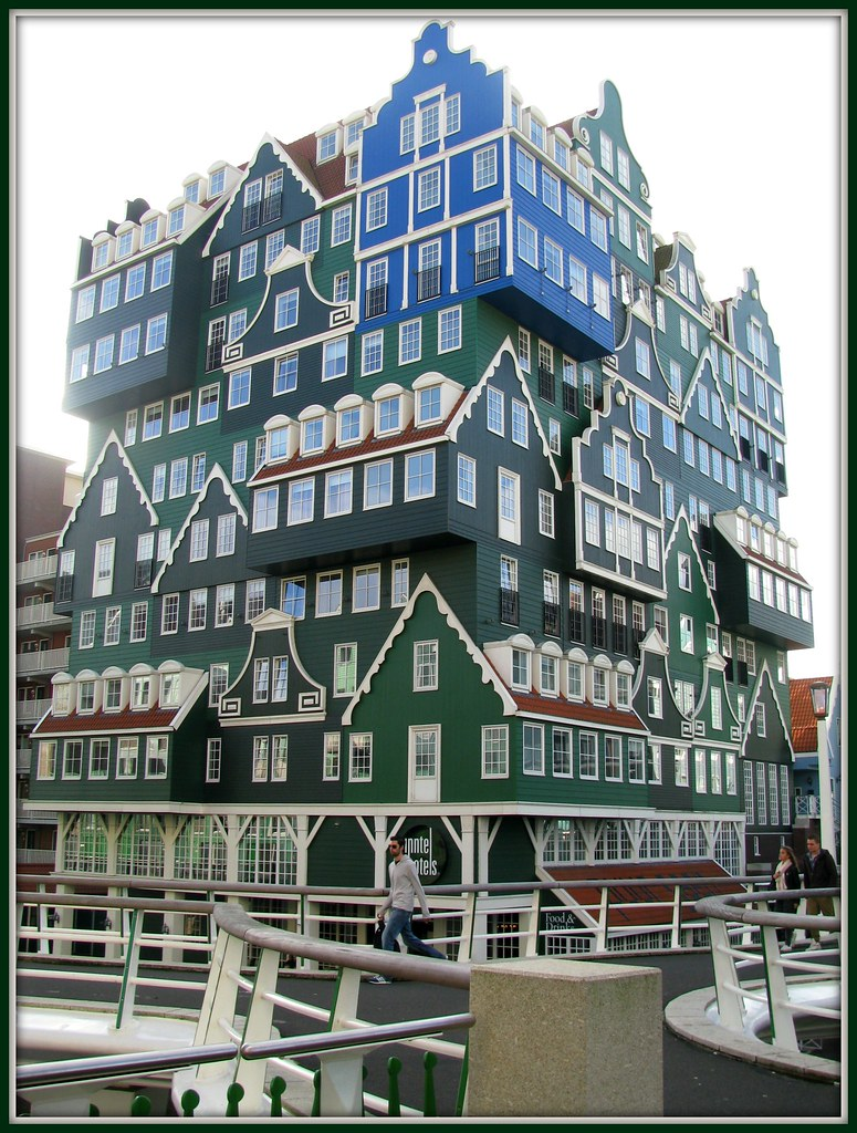 Special design of a hotel in zaandam near amsterdam flickr for Speciality hotels