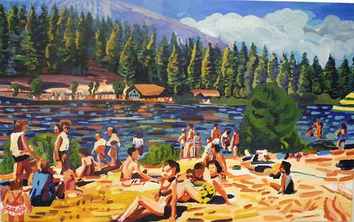 lake scene