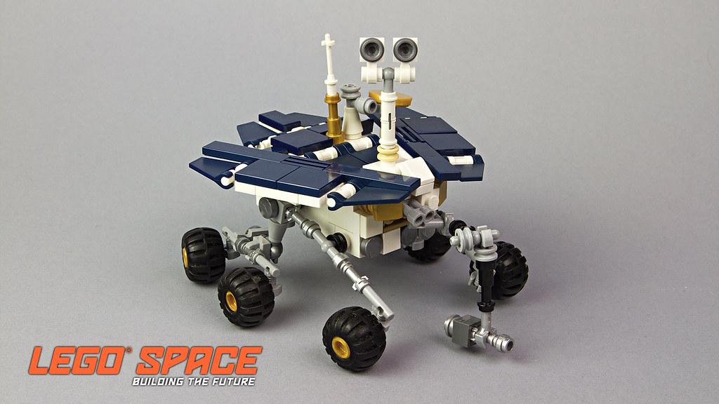 building jpl rover spirit - photo #33