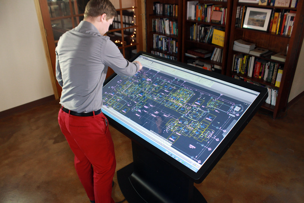 Platform 55 Multitouch Drafting Table The Platform 55
