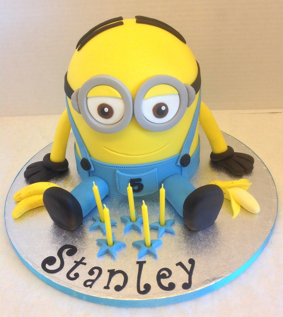 Minion Dave Birthday Cake Liz Flickr