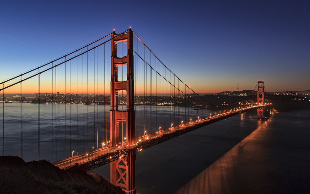 Hd wallpaper high resolution - Golden Gate Bridge Something More Natural This Time