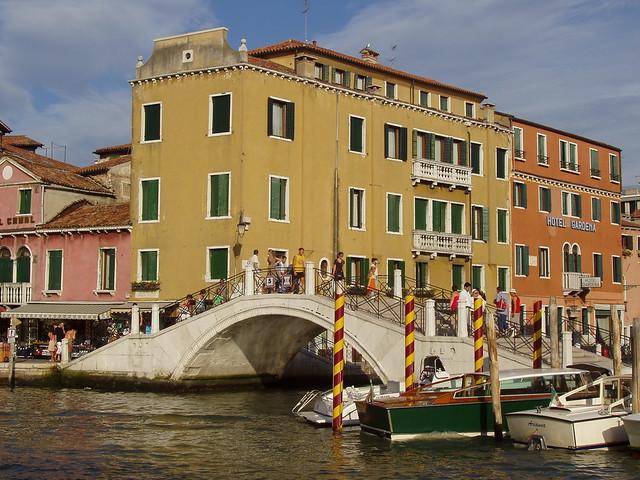 Foto de Venecia tomada durante mi viaje de 2006