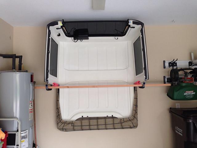 jeep jk hard top storage rack flickr photo sharing. Black Bedroom Furniture Sets. Home Design Ideas