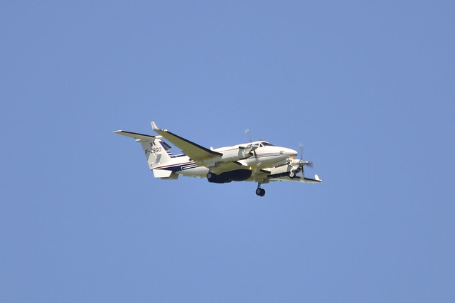 F-ZBGO King Air (French Customs)