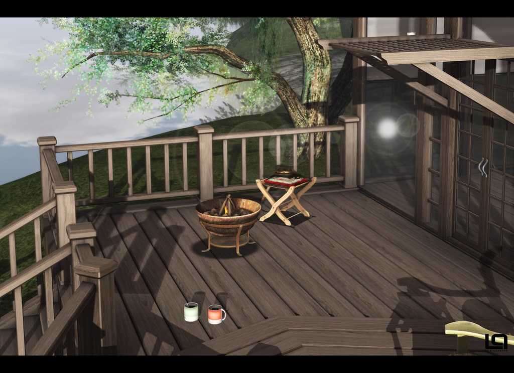 The Home Show - Pixel Mode Home - The Lake House - Deck ...