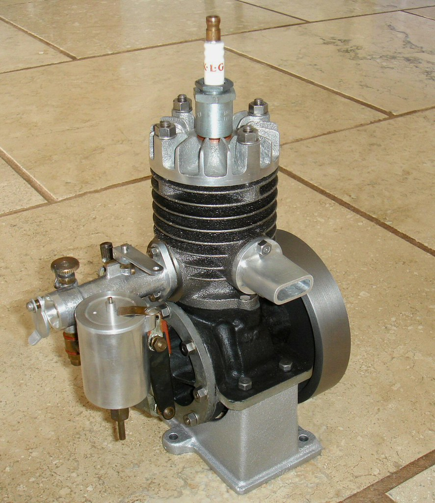 Stuart turner lightweight air cooled boat engine builde for Air cooled outboard motor kits