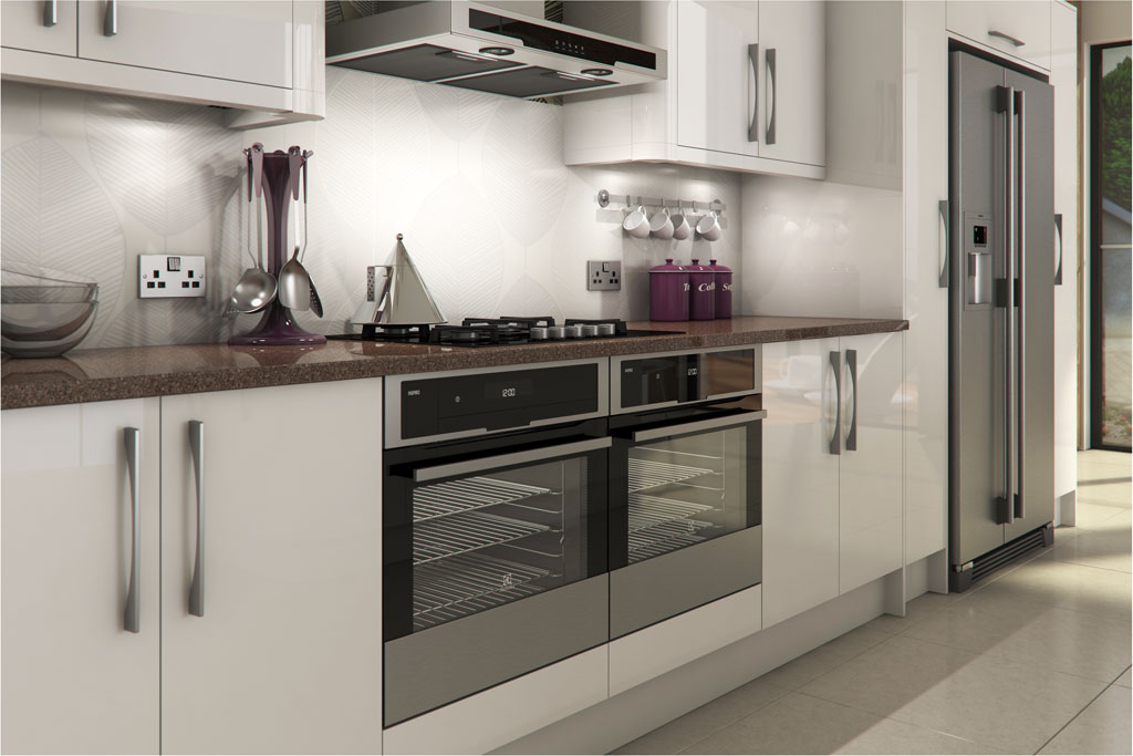 livorna white gloss kitchen a livorna white high gloss On kitchen ideas high gloss