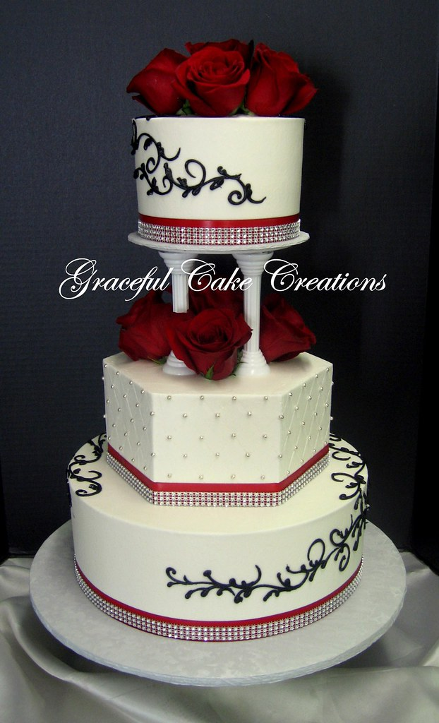 Elegant Wedding Cake Toppers