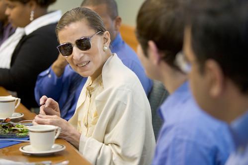 Associate Supreme Court Justice Ruth Bader Ginsburg Visits WFU