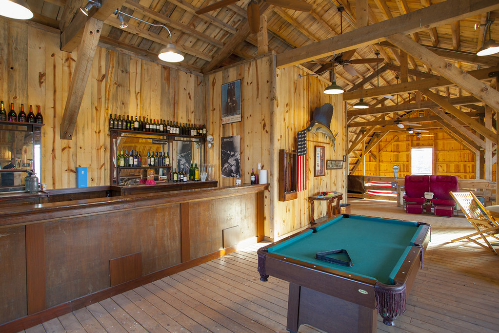 Wood Barn Party Loft In Minnesota Sand Creek Post Amp Beam