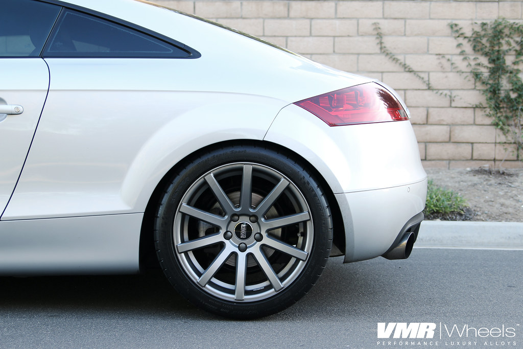 Vmr Wheels V702 Matte Gunmetal On Ice Silver Metallic