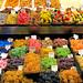 Candy stall, Mercat de La Boqueria de Barcelona