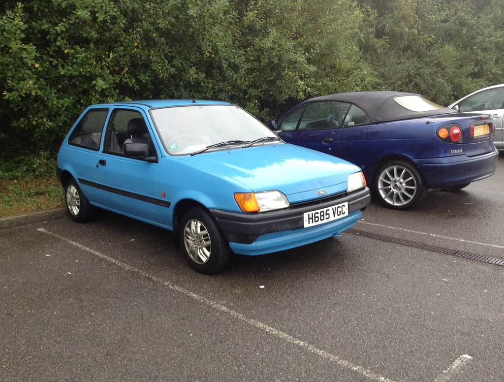 ford fiesta mk3 bonus this one must be a regular in this p flickr. Black Bedroom Furniture Sets. Home Design Ideas