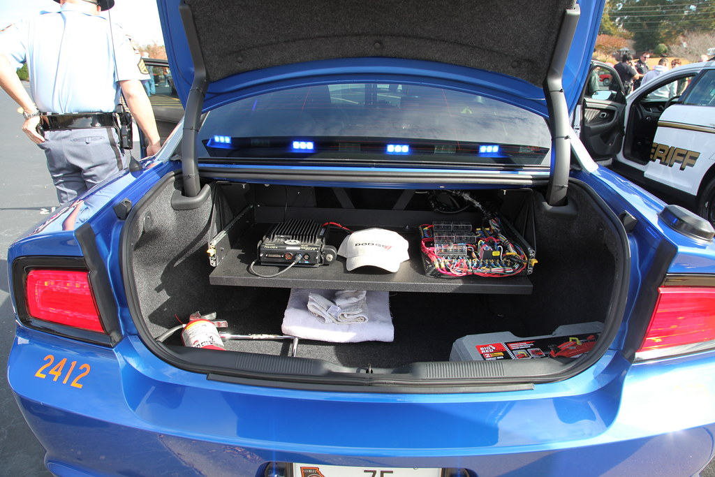 a look inside the trunk georgia state patrol car 75 on dis flickr. Black Bedroom Furniture Sets. Home Design Ideas