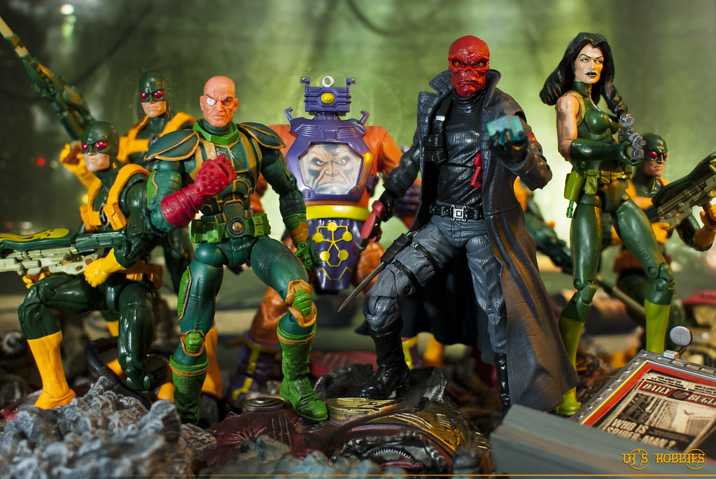 Hail Hydra By Marvel Legends L R 2x Hydra Soldiers