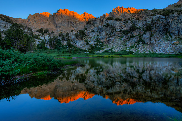 Castle Lake Ruby Mountains Nevada Flickr Photo Sharing