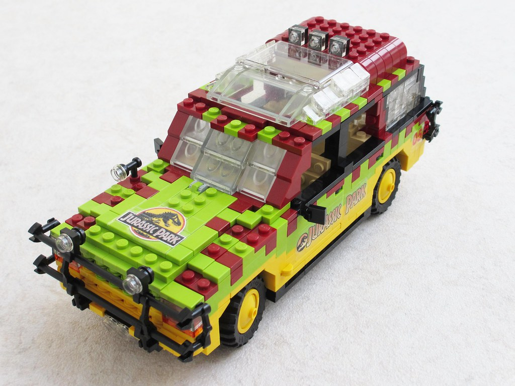 Jurassic Park Ford Explorer 4 The Cars Were First