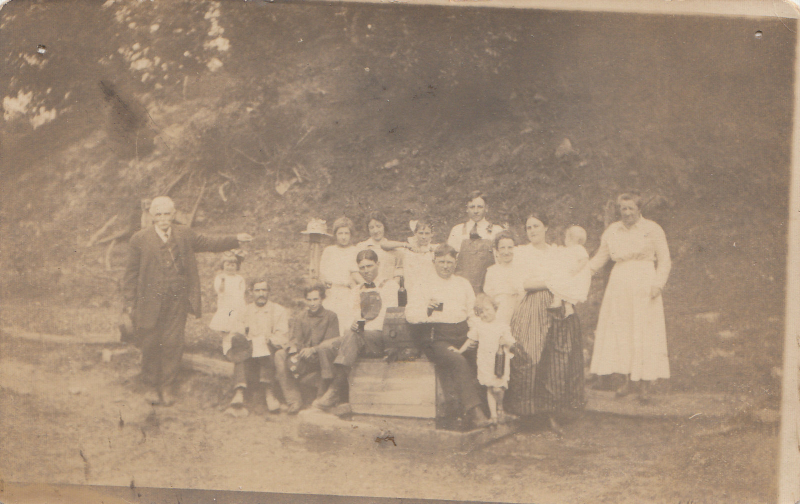 Klar Family on June 21, 1917