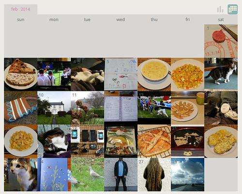 My ShutterCal - February 2014