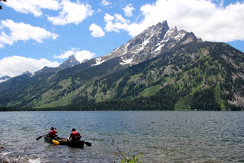 Grand Teton and Jenny Lake