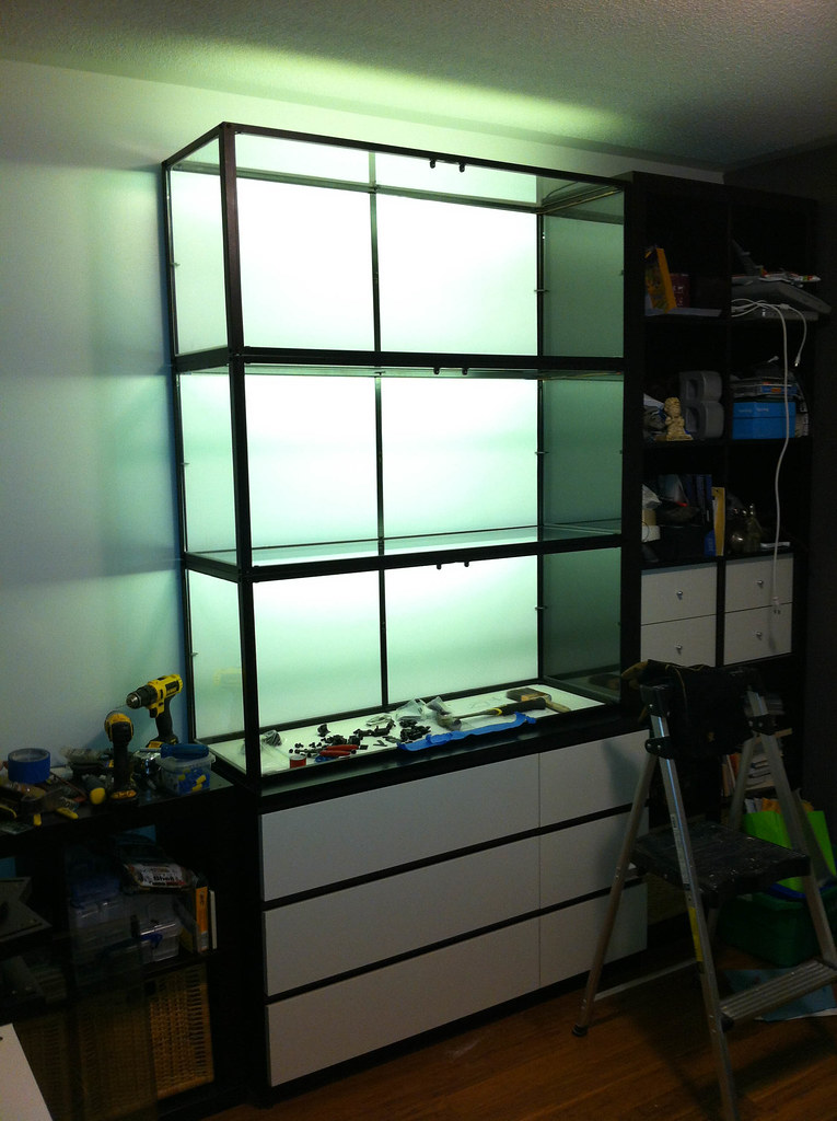 Ikea Klingsbo Cabinet Amp Malm Dresser Stacked And Hacked