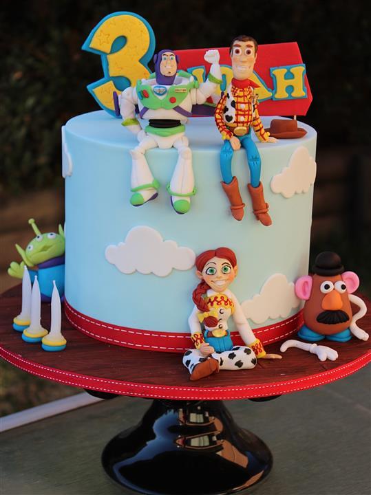 Toy Story Cake Kim Flickr