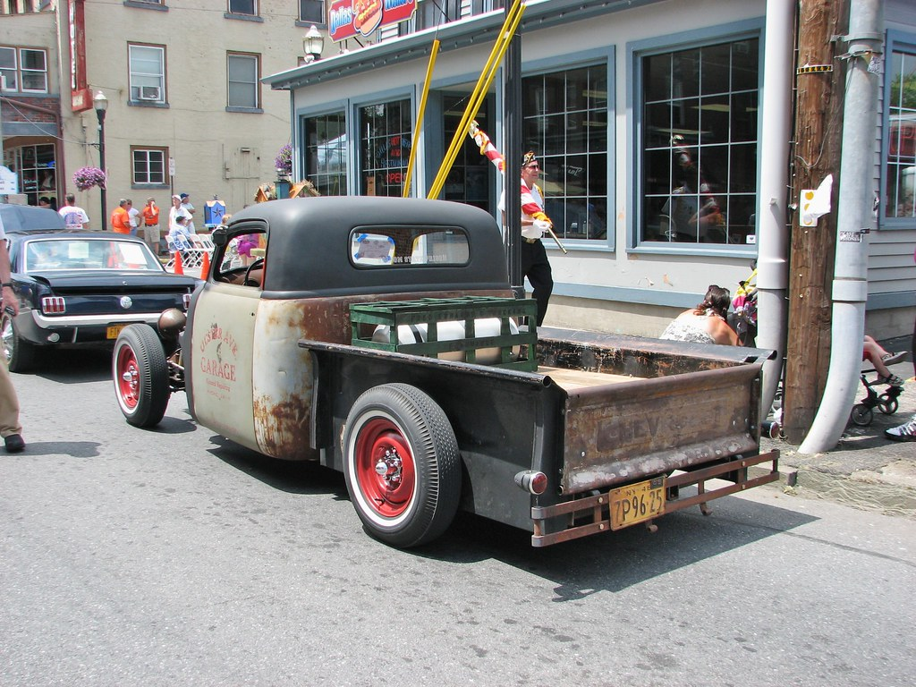 A Custom 1949 Chevy Pickup In July 2013 Seen At The 2013