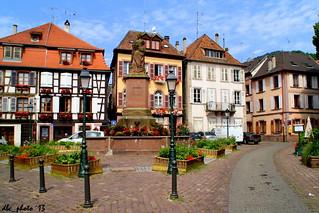 Ribeauville, Francia. Pueblos de cuento