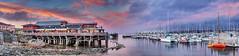 Fisherman's Wharf and Marina - Monterey, CA