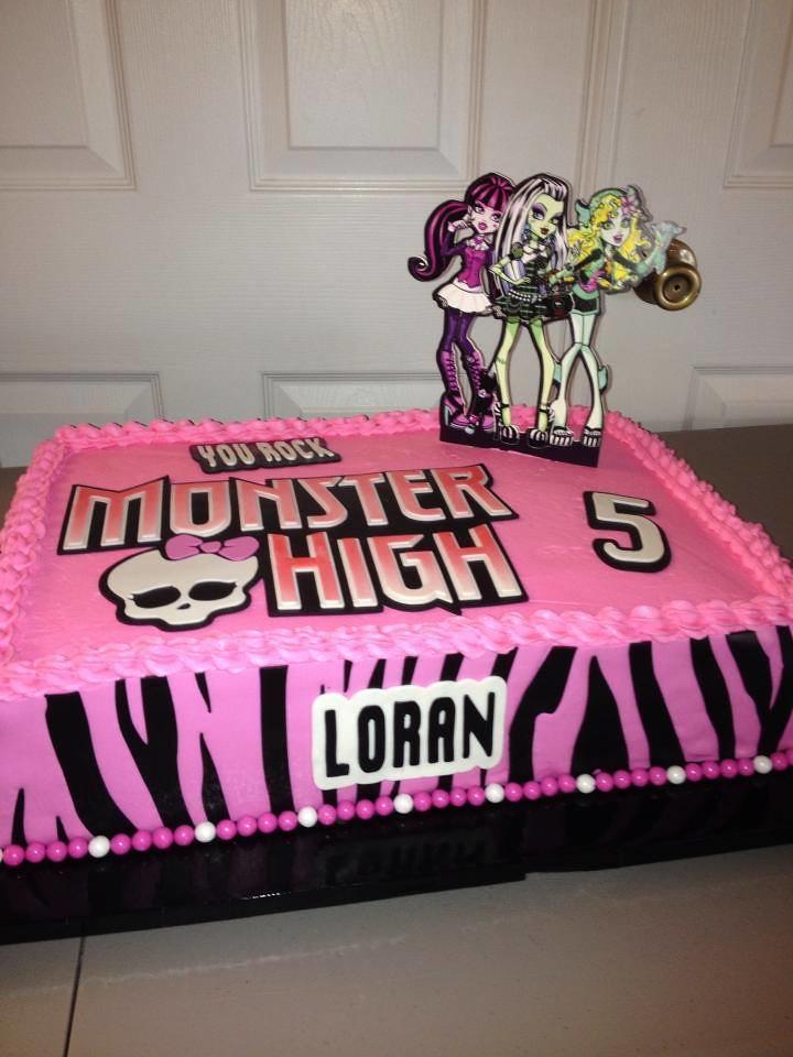 Monster High Birthday Cake Cake Lady Wpb Flickr