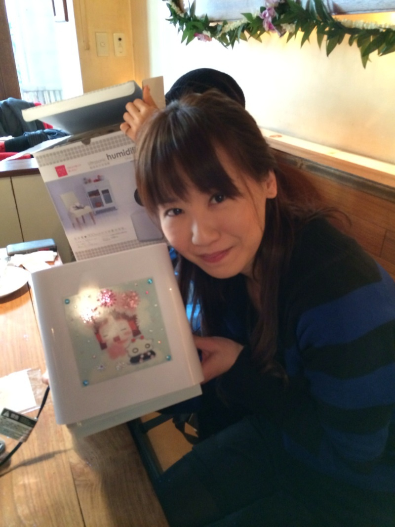 140224(1) -《水星領航員》水無灯里 聲優「葉月絵理乃」確定去年12月結婚、原作者贈「萌加濕器」!