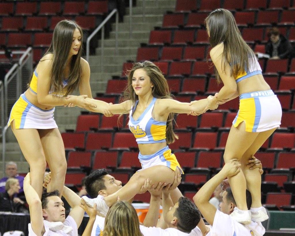 UCLA Cheerleaders   Flickr - Photo Sharing!