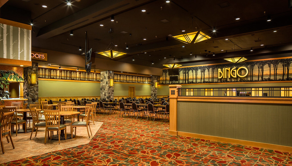 Bingo At Leelanau Sands Casino The Birch Room Offers A