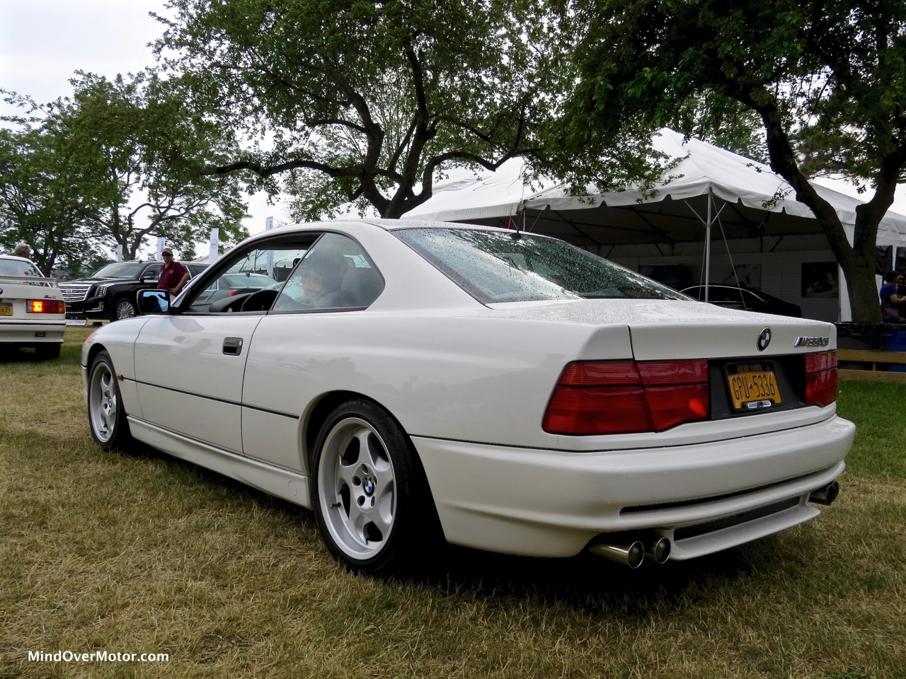 BMW 850CSi Rear