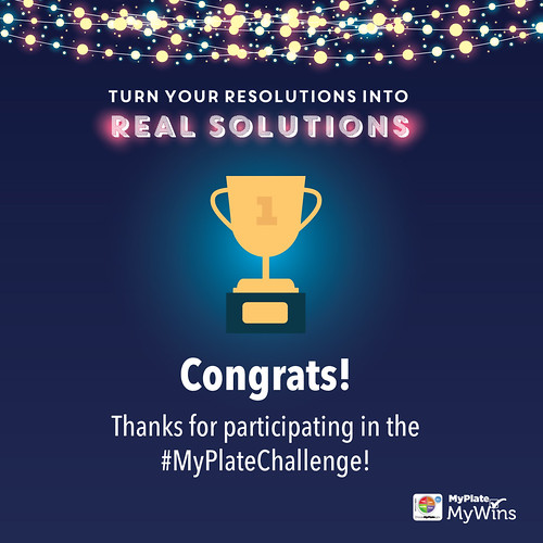 MyPlate Challenge Participation graphic